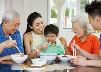transitioning adult parents to senior living